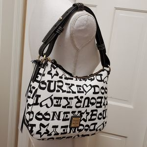 Dooney and Bourke Kiley Signature Hobo